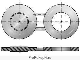 Заглушка очковая поворотная (обтюраторы)
