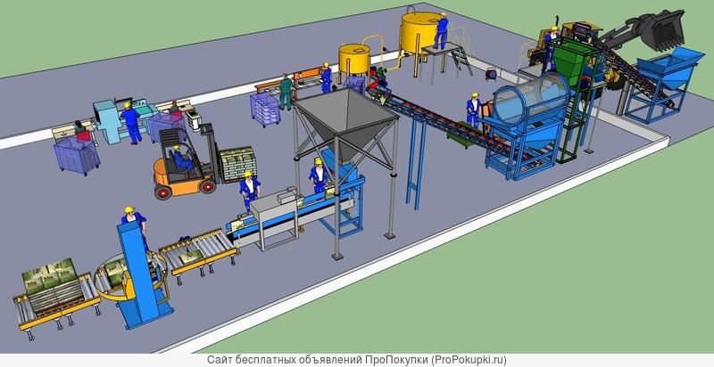 Поизводство рекультиванта на экспорт из донных илов Одесской области