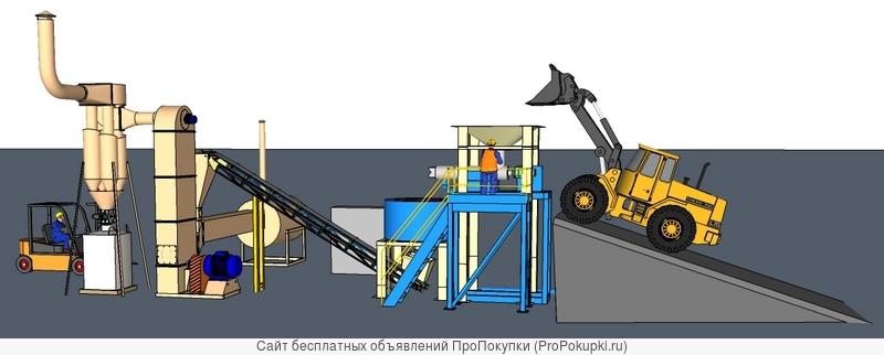 Производство удобрений из илов и сплавины водоемов