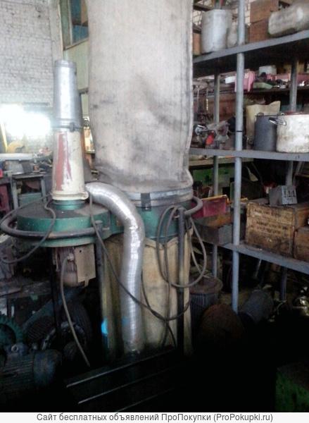 Вытяжка для наждака, шлифовальных станков с сухой шлифовкой