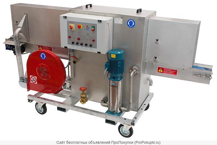 Оборудование для мойки и химической обработки палетокка