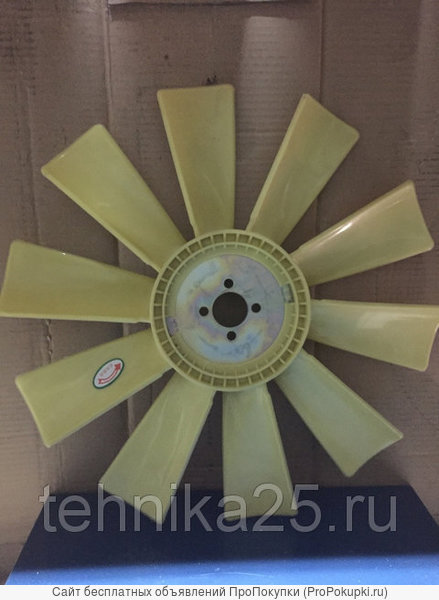 Крыльчатка вентилятора двигателя Weichai 4RMAZG погрузчик NEO300