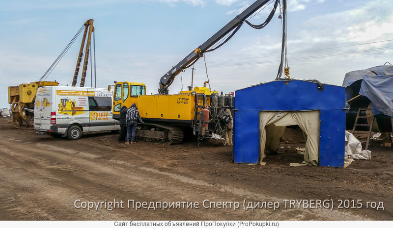 передвижной сварочный агрегат TWM-180 TRYBERG (4 поста)