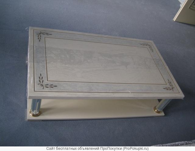 Журнальный столик TURRI модель Kristal новый в упаковке