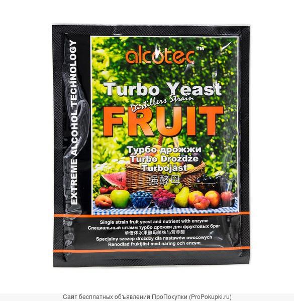 Дрожжи спиртовые Alcotec Turbo Yeast Fruit 66 гр
