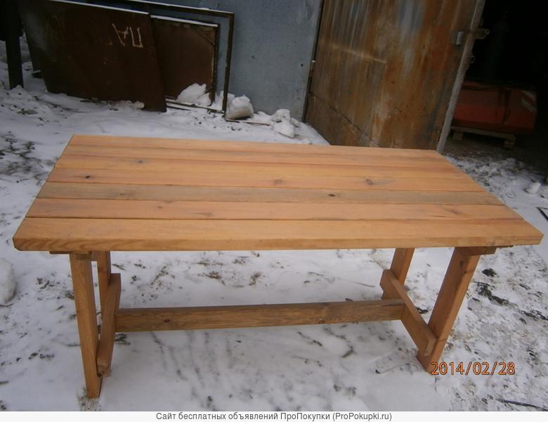 Скамейки садовые , столы