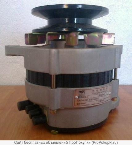 Генератор (JFW27 D4) двигатель Yuchai YCD4J22T-115, Shanlin ZL30