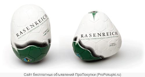 Мяч футбольный не правильной формы для тренировок