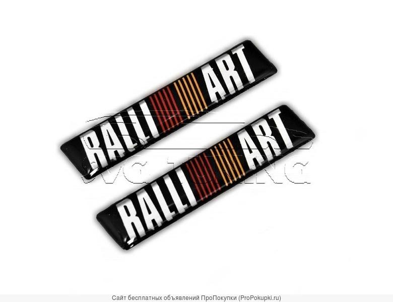 Шильдики Ralli Art для Mitsubishi