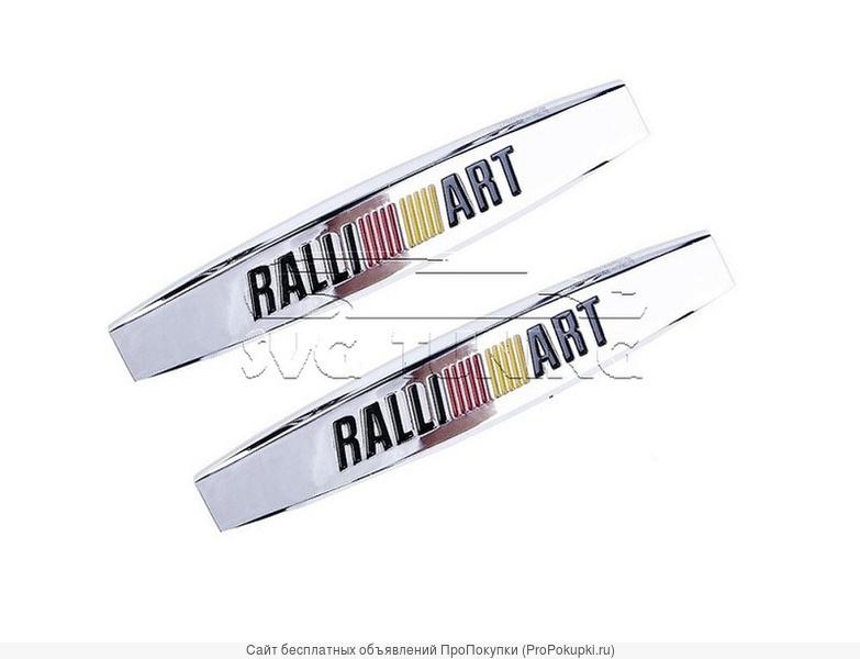 Шильдики Ralli ART на крылья Mitsubishi