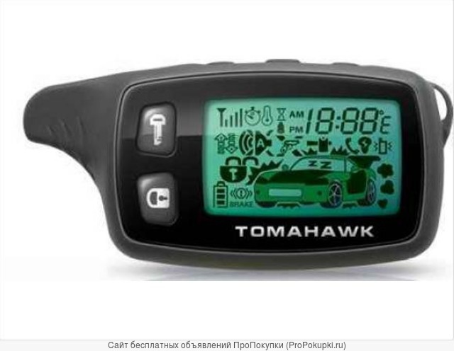 Брелок — пейждер Tomahawk tw 9010 new (пульт ду)