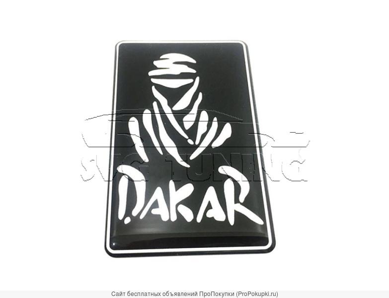 Шильдик Dakar Black для Mitsubishi