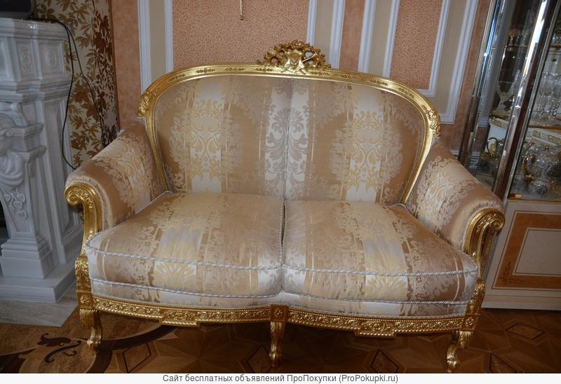 Королевский диван в золоте, фабрикаTurri Otello