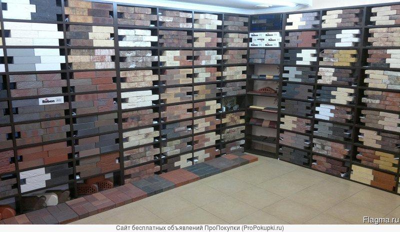 Кирпич, керамические блоки, клинкер, тротуарная плитка и кровля