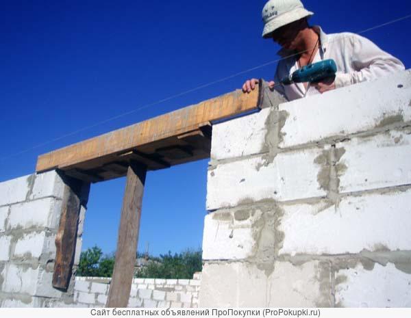 Каменные работы. Монтаж плит, маршей, перемычек, блоков в Пензе и области.