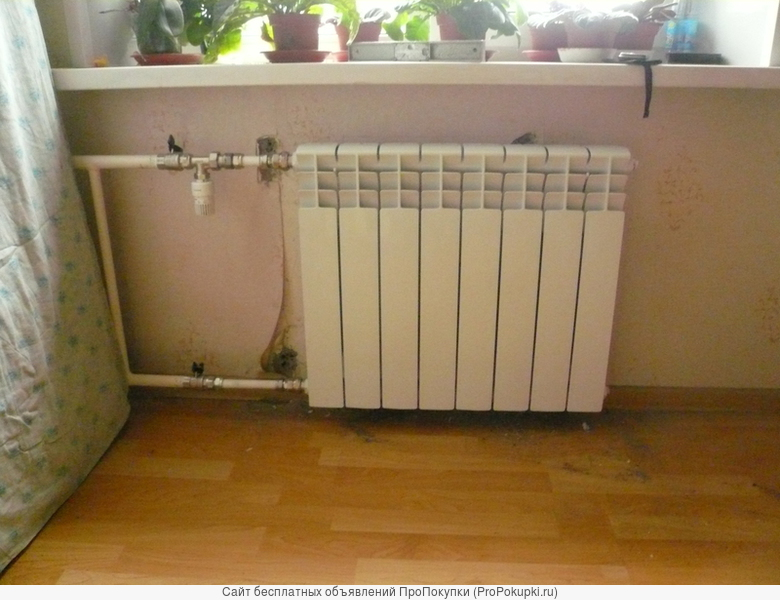 Отопление. Замена радиаторов