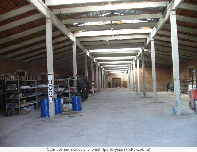 Сдаю складские помещения в ст.Медведовской.Собственник