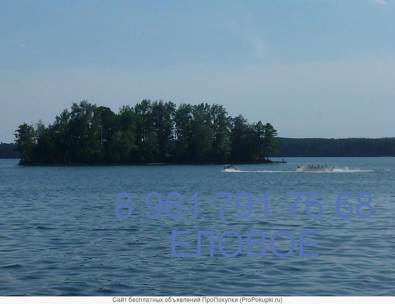 сдам студию на самом берегу озера Елового воды