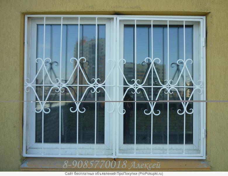 Решетки на окна металлические в челябинске