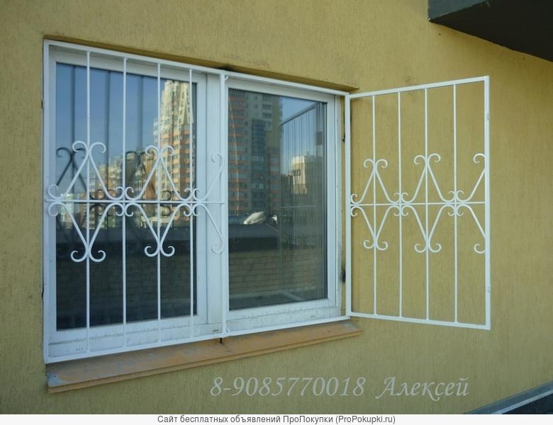 Решетки на окна в Чеябинске