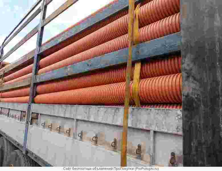 Трубы полипропиленовые для наружной и ливневой канализации