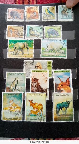коллекция редких марок россии и мира