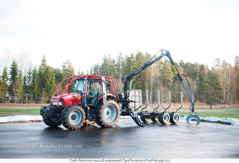 Лесные прицепы Palmse (Эстония)