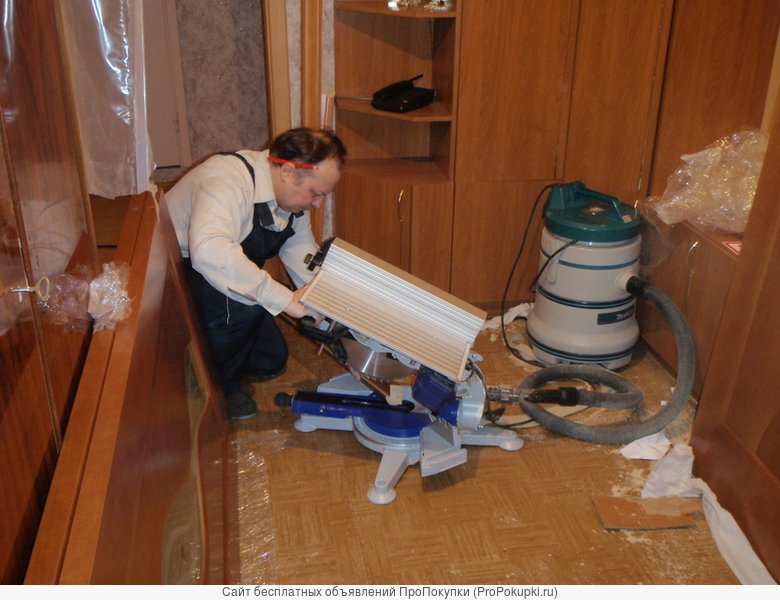 Установка, ремонт межкомнатных дверей