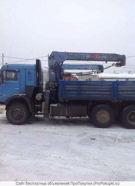 Грузовые перевозки в Голицыно. Манипуляторы, полуприцепы