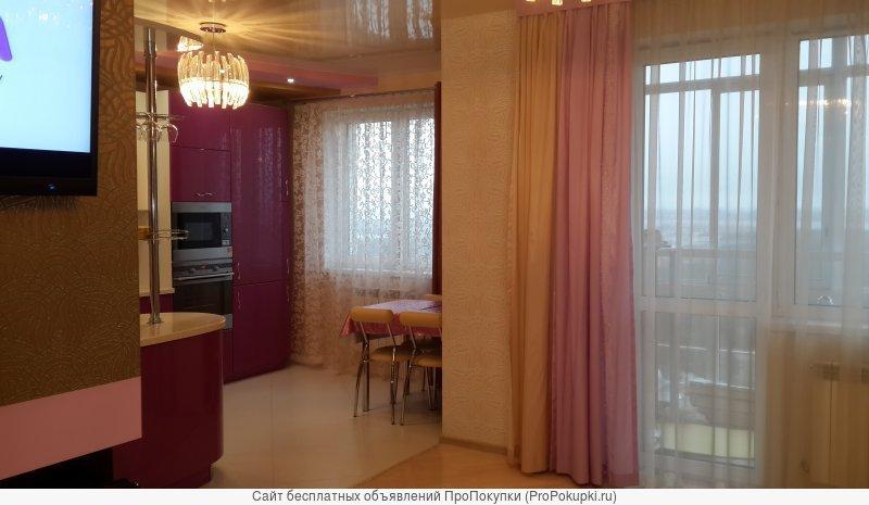 Сдам отличную трехкомнатную квартиру с евро-ремонтом