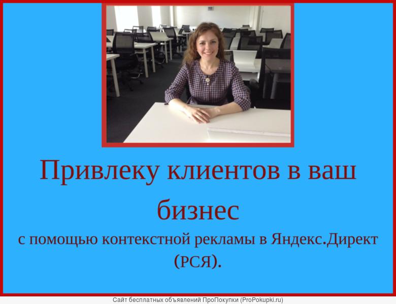 Продвижение сайтов. Настройка Яндекс.Директ