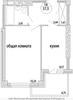 1-к квартира ЗЖМ / Жмайлова