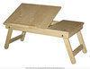 Подставка для ноутбука и завтрака в кровать из натурального дерева