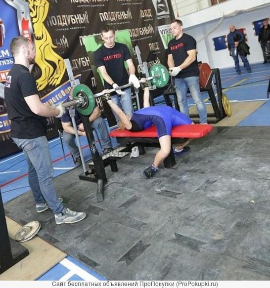 Готовый прочный помост для залов тяжелой атлетики и фитнеса