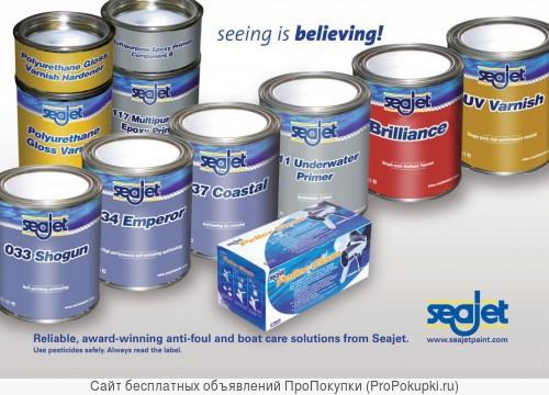 Предлагаем краски, краски против обрастания Seajet
