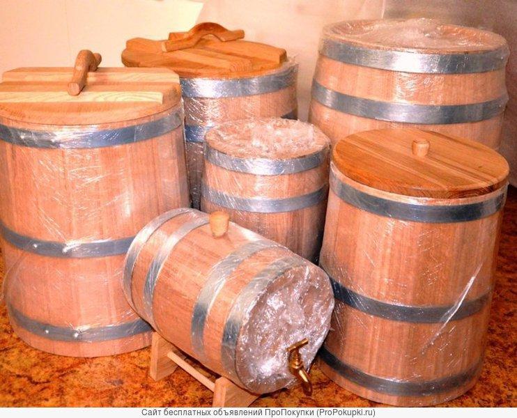 деревянные бочки для солений купить