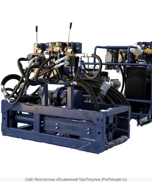 Установка неуправляемого прокола Pusher 650U-20 котлованного типа