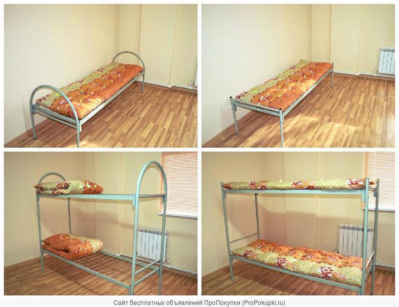 Кровати металлические от производителя 190*70, 80, 90 см