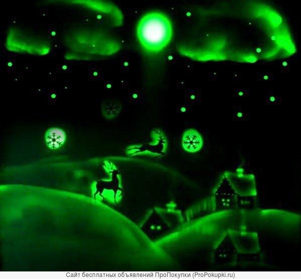 Шоу световых картин – нарисованная сказка светом