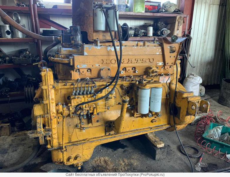 двигатель Komatsu SA6D155E-4