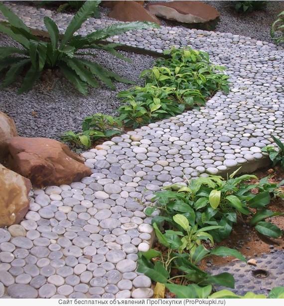Укладка дорожки. Тропинки в саду.