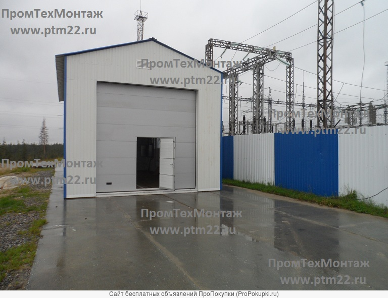 Блочные насосные станции, резервуары горизонтальные стальные