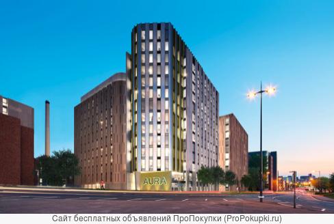 Аура - студенческие апартаменты в Ливерпуле, Великобритания
