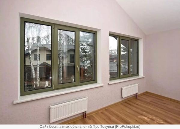 Пластиковые и алюминиевые окна и двери от производителя