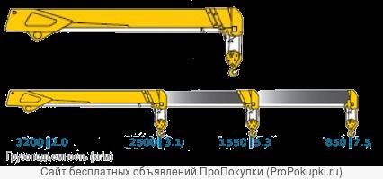 Кран-манипулятор КМУ Soosan SCS 333