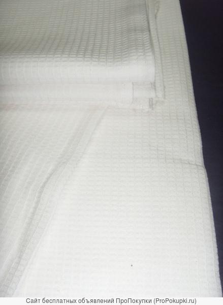 полотенце вафельное отбеленное