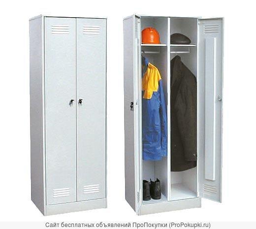Шкаф металлический для раздевалок для спецодежды