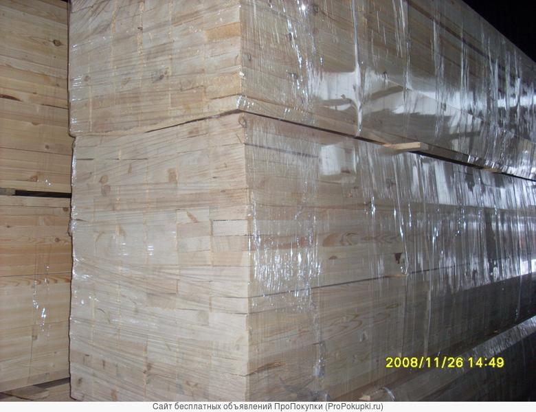 Сухая строганная калиброванная доска для каркасного домостроения