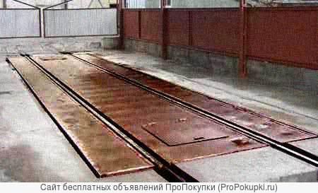 Комбинированные весы авто вагон промышленные