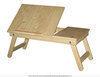 Столик для ноутбука и завтрака в кровать из натурального дерева